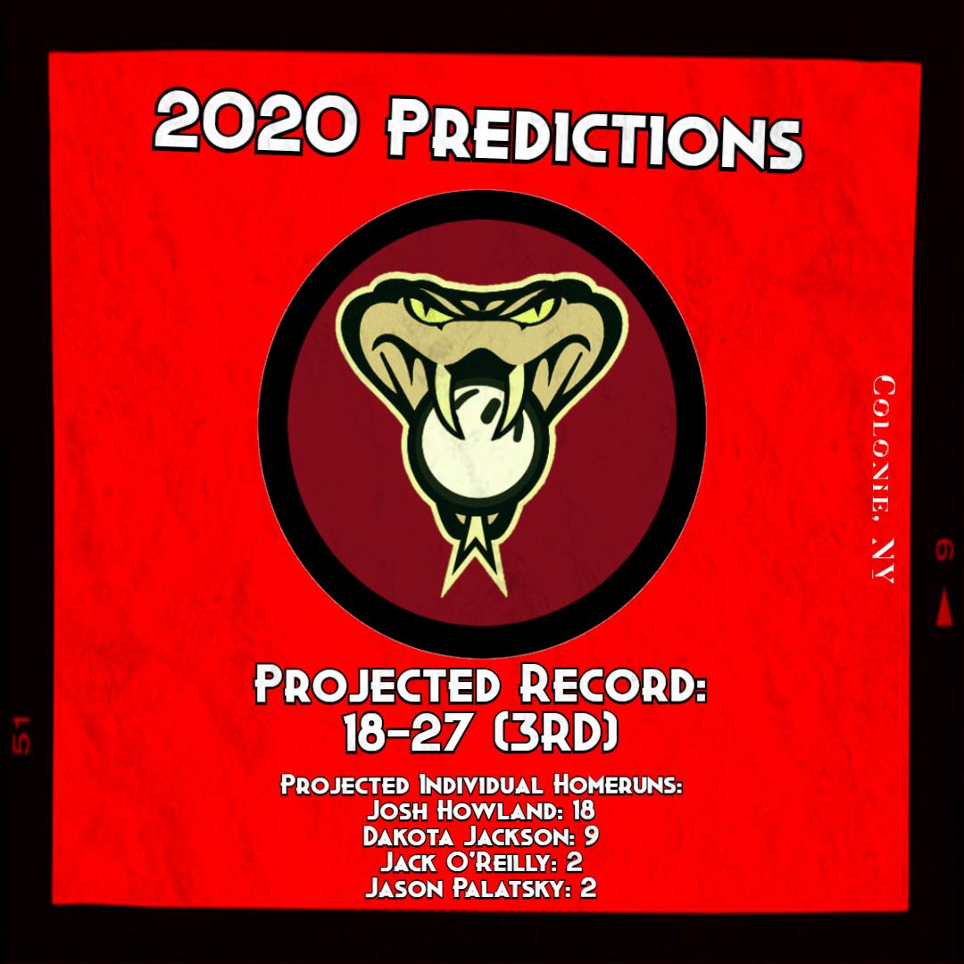2020 PREDICTIONS d backs