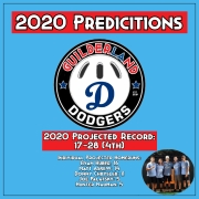 2020 PREDICTIONS dODGERS